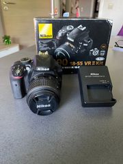 Neuwertige Nikon D3300 Kamera 4