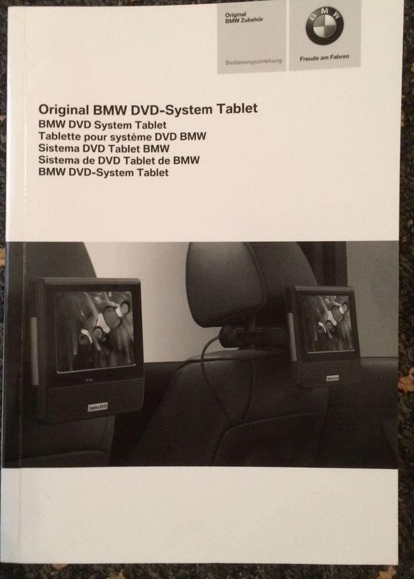 Original BMW DVD System-Tablet