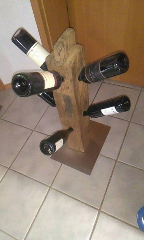 Weinständer Handarbeit Unikat