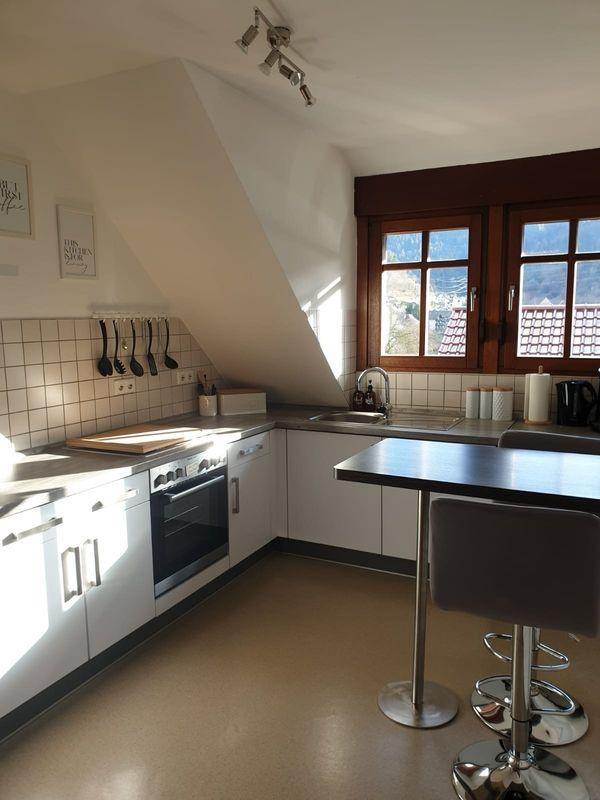 Einbauküche Weiß Grau-Matt