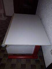 Moll-Schreibtisch weiß Breite 79 5cm