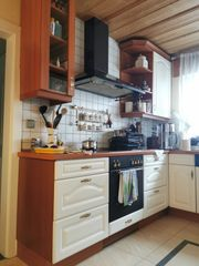 Hochwertige Stillvolle Küche in U-Form