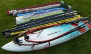 Surfausrüstung Mistralboard 4 Segel
