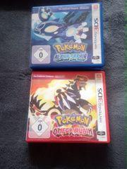 4x Nintendo 3DS Spiel Pokemon