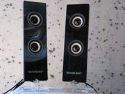 PC Lautsprecher Silvercrest - gebraucht-