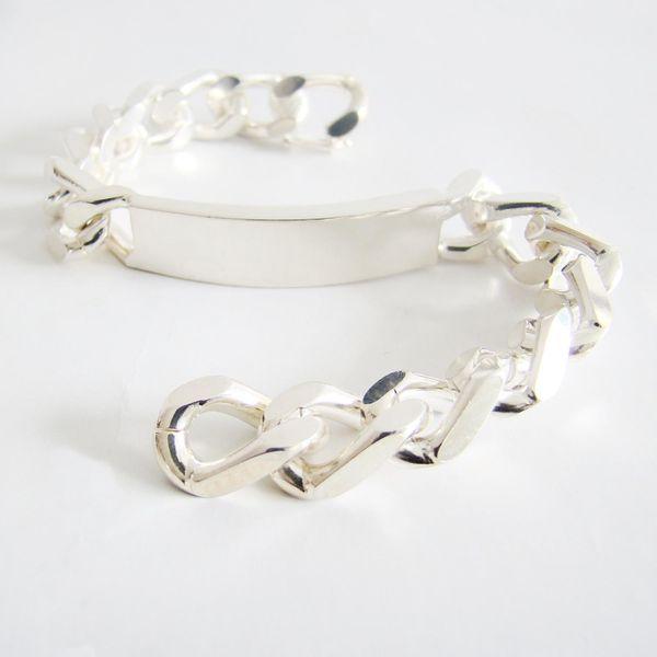 Armband Silber 800er ID Armband