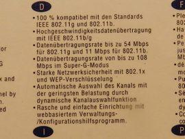 WLAN Karte PCI 108 MBPS: Kleinanzeigen aus Andechs - Rubrik Sonstige Hardware, Zubehör