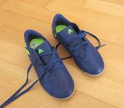 NEUE blaue Adidas Hallenturnschuhe Größe
