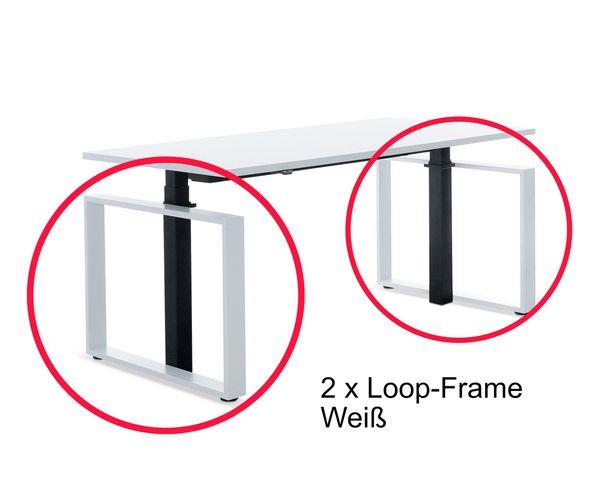 Masterlift Loop Frame in Weiß