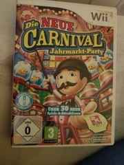 Wii Spiel die neue Jahrmarkt-Party