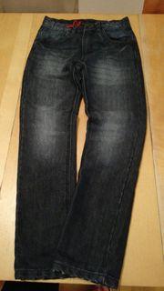 Jungen Jeans Hose gefüttert gr
