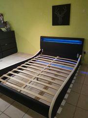 Cooles LED Bett