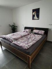 Schlafzimmer Doppelbett Schrank Musterring
