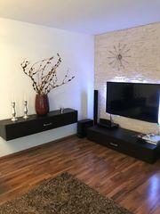 Wohnzimmerwand TV Lowboard