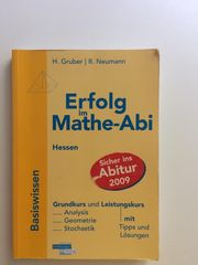 Erfolg im Mathe-Abi Basiswissen Grundkurs