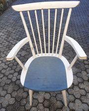 Stuhl mit original Sitzauflage sehr