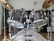 Sonor-Schlagzeug Vintage Phonic Acryl 6-tlg