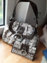 Damen Handtasche Guess ungd Geldbeutel