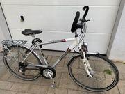 Herren-Fahrrad Trekking City Bike 28