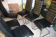 6 Stk Freischwinger Stuhl mit