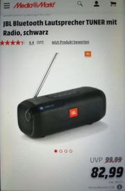 JBL Box tuner mit Bluetooth