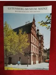 Broschüre Gutenbergmuseum Mainz