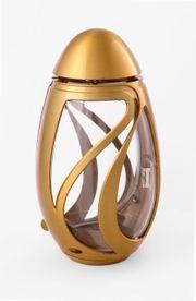 Exclusive Grablampe Verbena bronzefarben Grablaterne