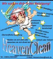 Verstärkung für unser Reinigungsteam HeavenClean