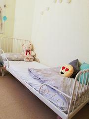 Kinderbett Minnen weiss 140-200 cm