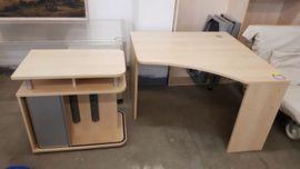 Schreibtisch 2 teilig modern gepflegt - H25014