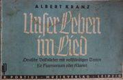Ein Liederheft Deutsche Volkslieder