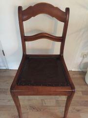 Antike weichholz Stühle 4Stk