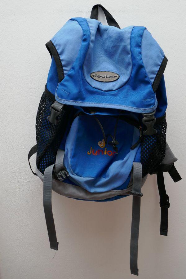 Deuter Kinderrucksack blau