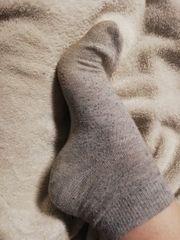 Triefende Socken genau so wie
