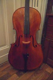 4 4 Cello mit Zettel