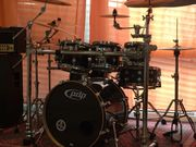 PDP DW Drumset Black Piano