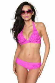 Blümchen-Bikini Pink in verschiedenen Größen