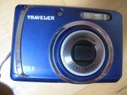 Traveler FX5 Digitalkamera Kamera blau