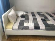 Bett weiß 140 x 200