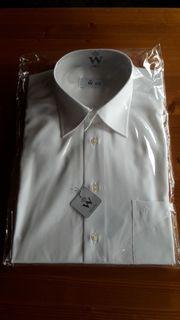 Herrenhemd Gr 41 Weiss neu