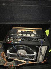 Subwoofer Endstufe Alpine Radio und