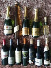 Alkohol Sekt Wein Spirituosen Likör