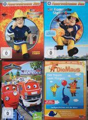 Kinder-DVD-Sammlung Feuerwehrmann Sam Chuggington Sendung