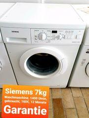 Siemens Waschmaschine 7kg 1400 Umin