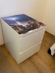 Ikea Malm Kommode Nachttisch