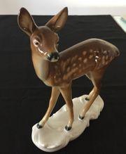 Metzler Ortloff Porzellanfigur Reh Bambi