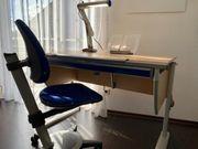 Hochwertiger Moll-Schreibtisch mit Drehstuhl