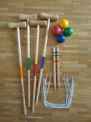 Croquet Spiel für draußen