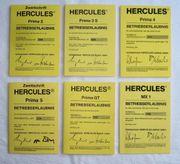 Blanko Betriebserlaubnis ABE BE Hercules