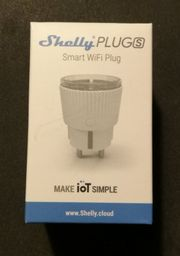 NEU Shelly Plug S Steckdosen